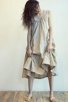 69 Halter Dress in Natural | Beautiful Dreamers