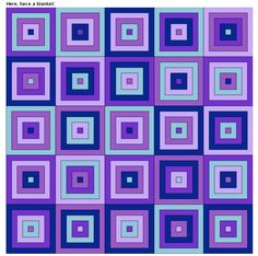 Granny Square Color Pattern Generator - This is a really neat site that allows you to enter number of squares (height x width) & as many colors as you want.the colors ranthroughout.