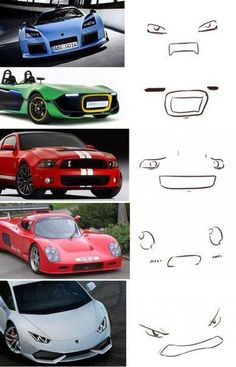 Each car has its own image of the face Car Jokes, Funny Car Memes, Super Funny Memes, Funny Video Memes, Car Humor, Funny Cartoons, Car Facts, New Luxury Cars, Weird Cars