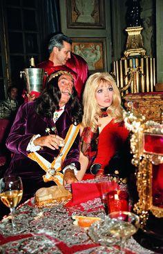 Salvador Dalí and Amanda Lear