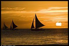 Sunset Sailing   Flickr - Photo Sharing!
