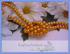 Harvest Orange Pearls  6mm  sku128 by HazyDaizySupply on Etsy, $4.00