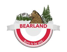 """Check out new work on my @Behance portfolio: """"Bearland"""" http://on.be.net/1QhRh4t"""