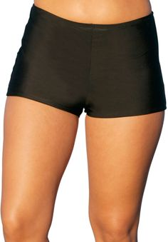 Plus Size Black Boy Short