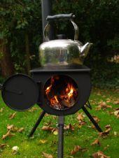 Frontier Fogão - O seu próprio fogão portátil e gravador de madeira!
