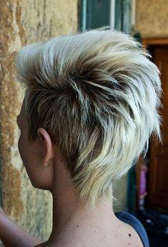 Short Punk Hairstyles | Cute Short Hair Ideas 2012 - 2013 | 2013 Short Haircut for Women  faux hawk