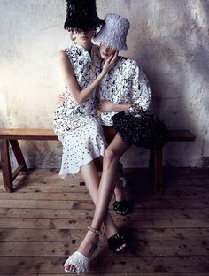 CR FashionBook.com - In Bloom benjamin vnuk , melanie huynh style