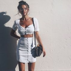 36 Cute Outfit Ideas for Summer – Summer Outfit Inspiration - Page 3 of 4 - Style O Check Trendy Outfits, Cool Outfits, Summer Outfits, Fashion Outfits, Womens Fashion, Style Fashion, Woman Outfits, Modern Outfits, Classic Outfits