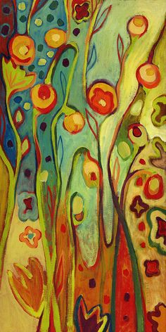 Where Does Your Garden Grow Painting by Jennifer Lommers - Where Does Your Garden Grow Fine Art Prints and Posters for Sale