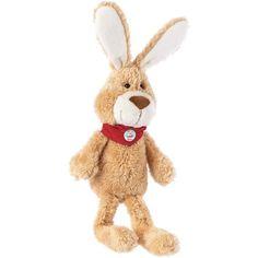 Dieses Plüschtier freut sich darauf, neue Freundschaften im Babyzimmer zu schließen! Der Hase ist nicht nur in der Osterzeit ein toller Begleiter!