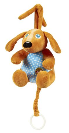 Loving this Oops Brown Dog Lullaby Plush Toy on Cot Toys, Toys Uk, Baby Activity Toys, Infant Activities, Toys In The Attic, Musical Toys, Baby Necessities, Brown Dog, Preschool Toys