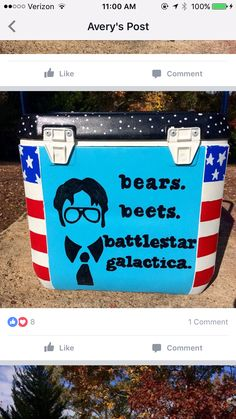 Fraternity Formal, Fraternity Coolers, Frat Coolers, Delta Upsilon, Formal Cooler Ideas, The Office Dwight, Cooler Painting, Kappa Alpha Theta, Sorority Crafts