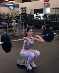 "3,908 Likes, 100 Comments - Alexia Clark (@alexia_clark) on Instagram: ""Plates Bar Burn 1. 12 Reps each side 2. 10 Reps each 3. 12 Reps each side 4. 15-20reps…"""