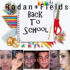 ✂️It's back to school time!! Is your teen struggling with acne? I can help!Send them back looking their Best! Rodan + Fields Unblemish is the #1 Premium Acne Brand in the US and there's good reason it's #1...RESULTS!!! With our Multi-Med Therapy [the right ingredients in the right formulations in the right order] your teen can see results in as little as 30 days. Your child will love their results!