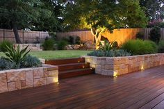 32 Admirable Modern Garden Landscaping Ideas - Creating a truly modern garden lighting design can add so much to your home. All types of properties can benefit from a garden lighting makeover, from. Back Garden Design, Modern Garden Design, Vegetable Garden Design, Backyard Ideas For Small Yards, Backyard Patio Designs, Small Backyard Landscaping, Landscaping Ideas, Steep Gardens, Front Gardens