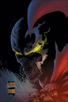 Meet SPAWN the star of the longest running black solo series ever! Al Simmons was a highly trained assassin, murdered by his best friend Chapel. Spawn Characters, Comic Book Characters, Comic Book Heroes, Comic Character, Comic Books Art, Comic Art, Spawn 1, Spawn Comics, Marvel Dc Comics