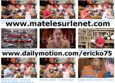 Erick BERNARD malaxe l'actu et en fait des petits pâtés vidéo qu'il diffuse tous les jours sur www.matelesurlenet.com, sur dailymotion et différents réseaux sociaux. Bref ! Un vrai cuisinier de l'info quoi !  Si vous aimez, partagez un max svp  ;-)