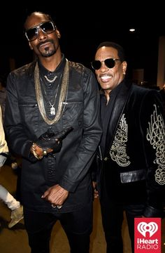 Snoop Dogg and Charlie Wilson at the iHeartRadio Music Awards which broadcasted live on NBC from the Shrine Auditorium in Los Angeles on March 29. (Photo: Getty Images for iHeartRadio)