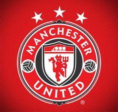 Manchester United Logo by Amit, via Behance Football Team Logos, Soccer Logo, Sport Football, Football Casuals, Basketball, Manchester United Football, Manchester City, Manchester United Wallpaper, Soccer Theme