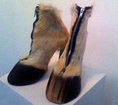hoofs for feet OMGosh!!! These boots/shoes/hoofs are so ugly!!!!! LOL