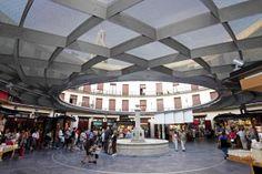 plaza redonda, Valencia. For lace etc.