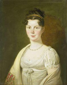 Wilhelmina Maria Haack (1786-1857). Vierde echtgenote van Gerrit Verdooren, Adriaan de Lelie, 1814 - 1820