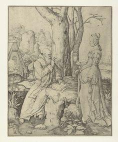 De verzoeking van de heilige Antonius, Lucas van Leyden, 1509
