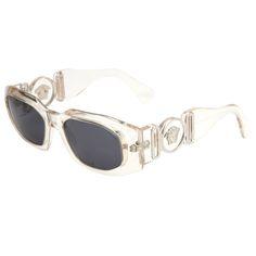 80805461808 Gianni Versace Clear Sunglasses Mod 414 B Col 924