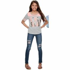 SO® varsity tees for girls 7-16