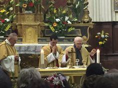 4 messes à Martigues le jour de Pâques ! Une église de La Madeleine comble ! Le retour du Père Louis ! Christ est ressuscité ! Alleluia !