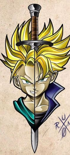 Future Trunks Dragon Ball Z The post Future Trunks Dragon Ball Z appeared first on Hintergrundbilder. Dragon Ball Gt, Dragon Z, Dragonball Anime, Z Tattoo, Naruto, Anime Tattoos, Animes Wallpapers, Anime Comics, Avengers
