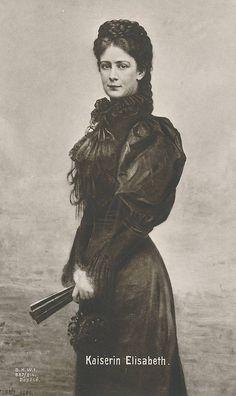 The Sad Kaiserin Elisabeth of Austria.