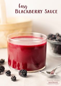 make, Blackberry Sauce recipe is amazing on almost anything, from ice ...