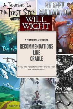 More similar recommendations like Cradle. Book and anime recommendations similar to Cradle. Anime Recommendations, The Witcher, The Last Airbender, Tv Shows, Author, Fantasy, Books, Libros, Book