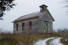 Old School House - Romeo, Michigan.
