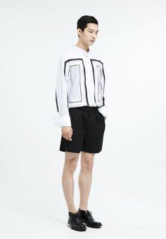 Blindness Geometric Black Shirt