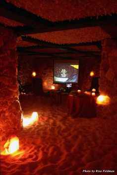 Movies at Salt, Santa Barbara's salt caves #epicuresb