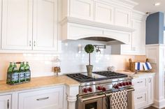 Pot filler and the hood design is timeless.