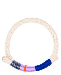 Krysos + Chandi Nima Thread Wrapped Rope Bracelet | LEIF