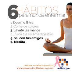 Hábitos saludables que te ayudarán a mantenerte bien física y emocionalmente.