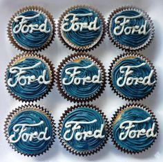 Cakes for a Ford lover. by kirs10m