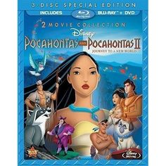Pocahontas and Pocahontas II: Journey to a New World [Blu-Ray 2-Movie Collection]