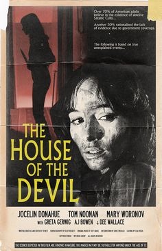 """The House of the Devil Movie Poster - 11x17"""""""