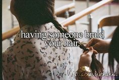 "JustGirlyThings - love this! If only I weren't the only ""braider"" everyone knows. lol"
