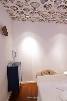 MYSSAGE Spa Massageraum - Ballons. - www.myssage.de  #spainterior #interior #inneneinrichtung #spa