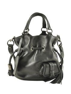 Lancel - Premier Flirt bucket bag in black