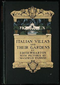 Edith Wharton with Maxfield Parrish cover