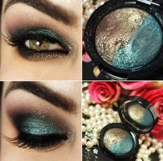 Tutorial – maquiagem com Duo de Sombras da Natura Una! Perfect Makeup, Love Makeup, Makeup Inspo, Makeup Inspiration, Makeup Looks, Teal Makeup, Eye Makeup Tips, Skin Makeup, How To Make Hair