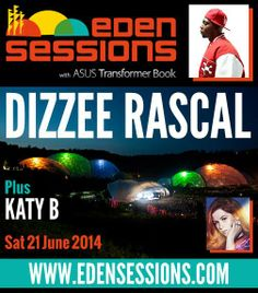 Dizzee Rascal - Enter the RAYMOND WEIL Music Day Contest for tickets to Dizzee Rascal at the Eden Project (UK) on June 21st 2014.  http://www.raymond-weil.com/musicday_contest #RWMusicDay #England #EdenProject #Music #Contest #DizzeeRascal
