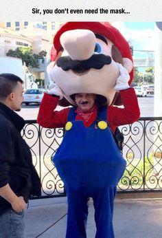 Natural Mario
